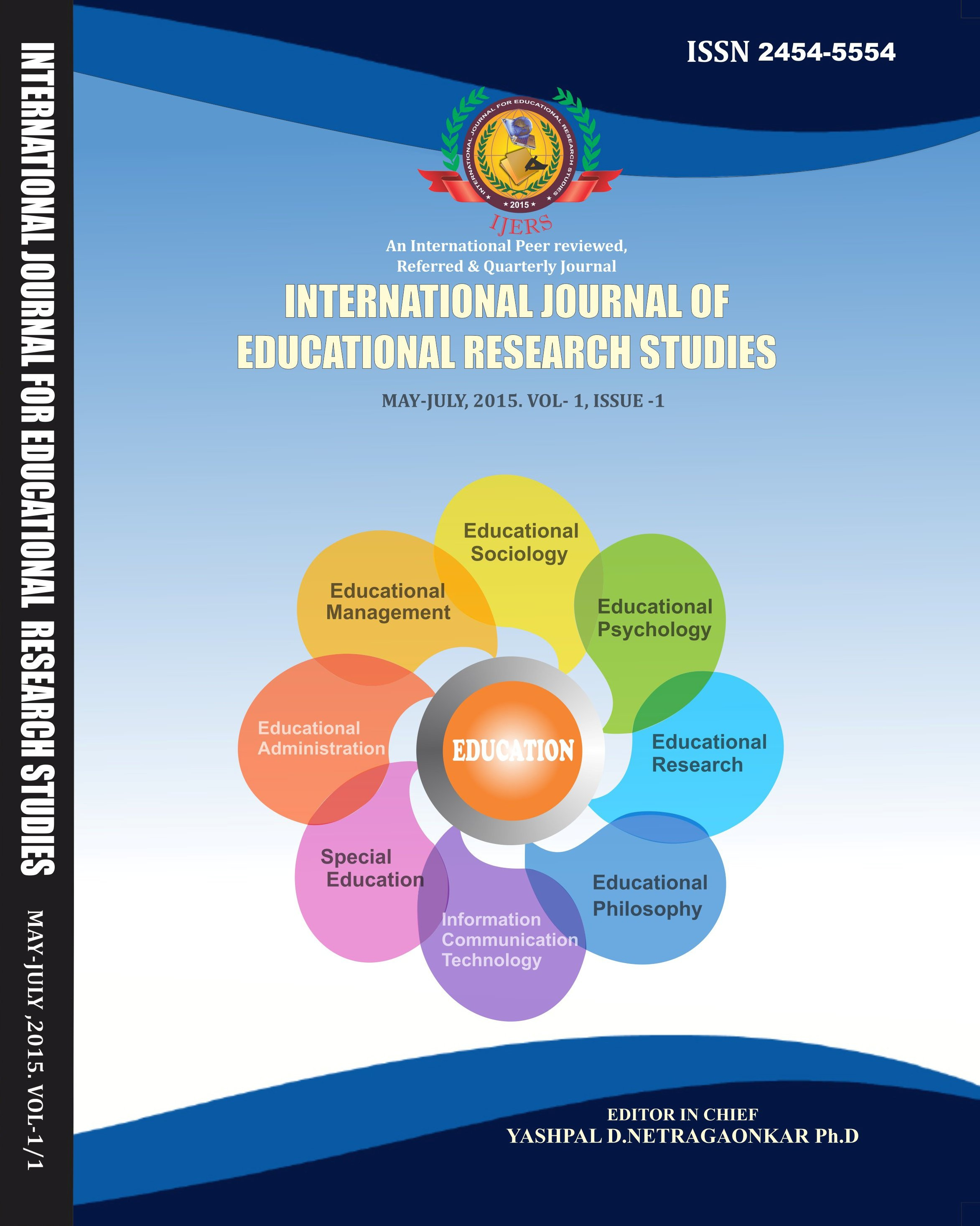 International Journal for Educational Research Studies